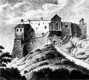hrad Gýmeš v minulosti